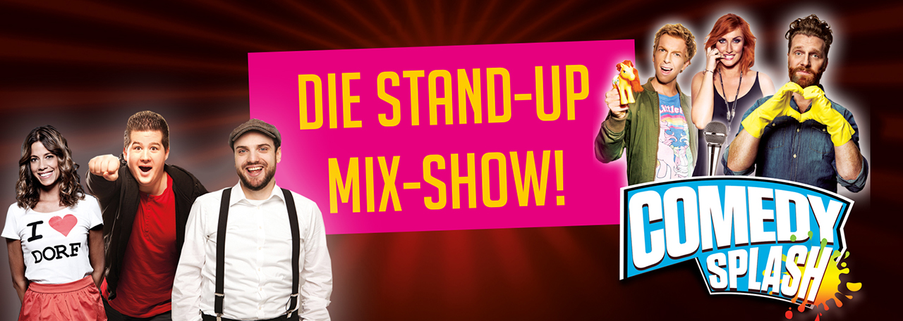 Stand-Up Comedy im genialen Mix